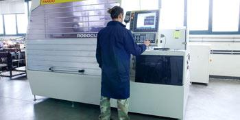 Macchine CNC elettroerosioni