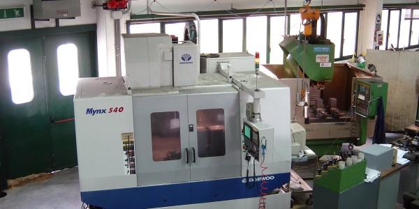 Macchina lavorazione CNC